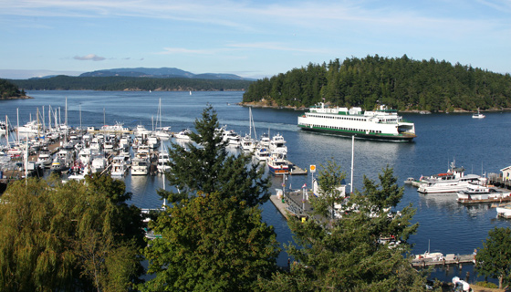The San Juan Islands, Victoria &amp; Oly